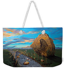 Mother Of Anguishes  Weekender Tote Bag by Lazaro Hurtado