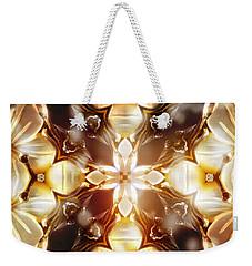 Mother Of Pearl Weekender Tote Bag by Shawna Rowe