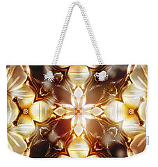 Mother Of Pearl Weekender Tote Bag