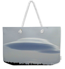 Mother Ship Weekender Tote Bag by Fiona Kennard