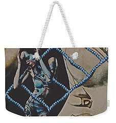 Mothership Weekender Tote Bag by Galen Valle
