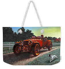 Motor Car Weekender Tote Bag