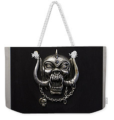 Motorhead England Weekender Tote Bag by Jerry Cordeiro