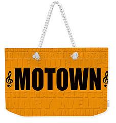 Motown Weekender Tote Bag