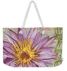 Moulin Floral 1 Weekender Tote Bag