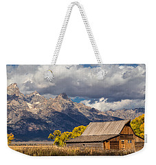 Moulton Barn In The Tetons Weekender Tote Bag