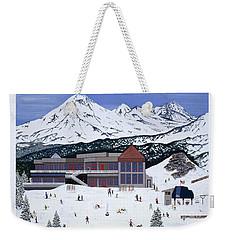 Mount Bachelor Weekender Tote Bag
