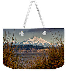 Mount Baker From Port Townsend Weekender Tote Bag