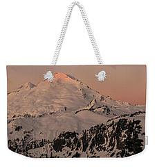 Mount Baker Majestic Weekender Tote Bag