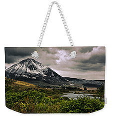 Weekender Tote Bag featuring the photograph Mount Errigal by Jane McIlroy