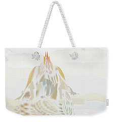 Weekender Tote Bag featuring the digital art Mount Helm by Kevin McLaughlin