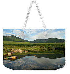 Mount Katahdin Weekender Tote Bag by Jeannette Hunt