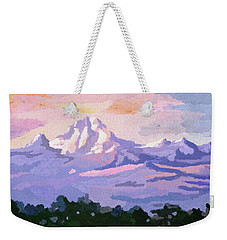 Mount Kenya At Dawn Weekender Tote Bag