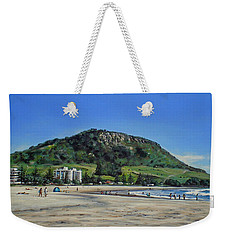 Mount Maunganui Beach 151209 Weekender Tote Bag