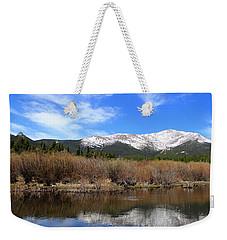 Mount Meeker - Panorama Weekender Tote Bag