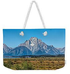 Mount Moran Weekender Tote Bag by John M Bailey