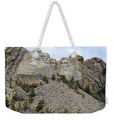 Mount Rushmore In South Dakota Weekender Tote Bag