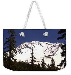 Mount Shasta Weekender Tote Bag