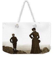 Weekender Tote Bag featuring the photograph Mount Tamalpais Marin County California Circa 1902 by California Views Mr Pat Hathaway Archives