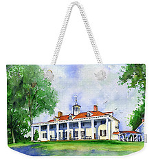 Mount Vernon Front Weekender Tote Bag