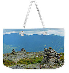 Mount Washington Rock Cairns Weekender Tote Bag
