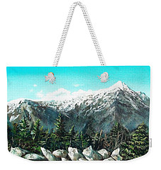 Mount Washington Weekender Tote Bag