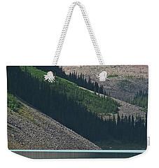 Mountain Canoes Weekender Tote Bag