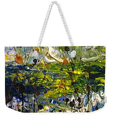 Mountain Creek Weekender Tote Bag by Jacqueline Athmann