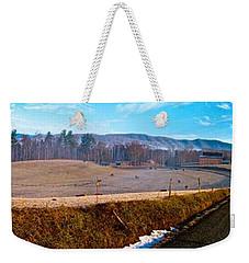 Mountain Farm Panorama Version 2 Weekender Tote Bag