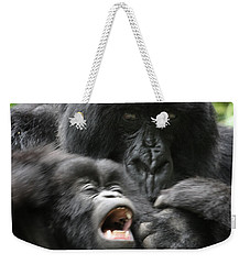 Mountain Gorilla Adf2 Weekender Tote Bag