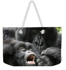 Mountain Gorilla Adf2 Weekender Tote Bag by David Beebe