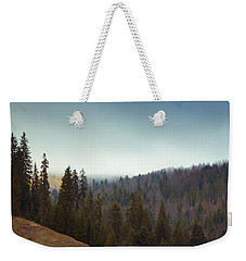 Mountain Landscape In Romania Weekender Tote Bag