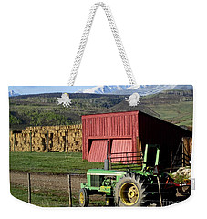 Mountain Living Weekender Tote Bag by Fiona Kennard