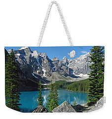 Weekender Tote Bag featuring the photograph Mountain Magic by Alan Socolik