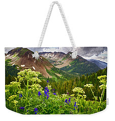 Mountain Majesty Weekender Tote Bag by Priscilla Burgers