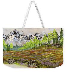 Mountain Meadow Weekender Tote Bag by Jack Malloch