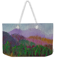 Mountain Meadow Weekender Tote Bag by Margaret Bobb