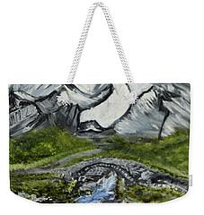 Mountain Path Weekender Tote Bag