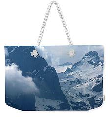 Mountain Peaks - Italy Weekender Tote Bag by Phil Banks