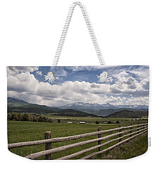 Mountain Ranch Weekender Tote Bag