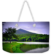 Mountain Reflection Weekender Tote Bag