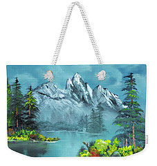 Mountain Retreat Weekender Tote Bag