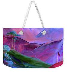 Mountain Reverence Weekender Tote Bag