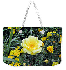 Mountain Rose Weekender Tote Bag by Janice Westerberg