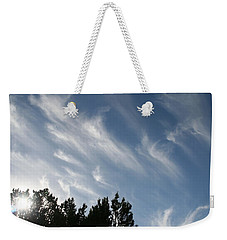 Mountain Sky Weekender Tote Bag