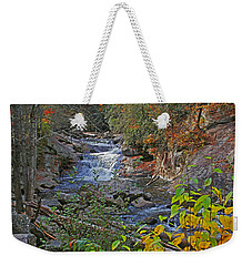 Weekender Tote Bag featuring the photograph Mountain Splendor by HH Photography of Florida
