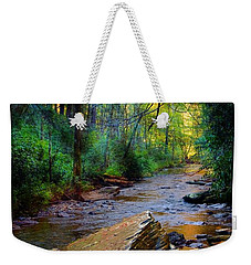 Mountain Stream N.c. Weekender Tote Bag