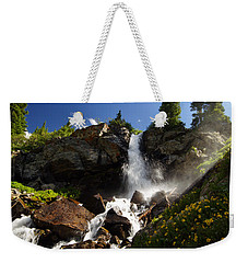 Mountain Tears Weekender Tote Bag by Jeremy Rhoades