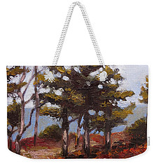 Mountain Top Pines Weekender Tote Bag