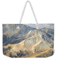 Weekender Tote Bag featuring the photograph Mountain View 2 by Mark Greenberg